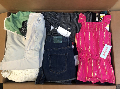 Case Lot of Assorted Apparel - Men's, Women's & Kids - 100 Units