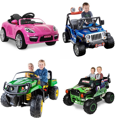 Power Wheels, Ride-Ons and Toys Truckload - 26 Pallets -Customer Returns