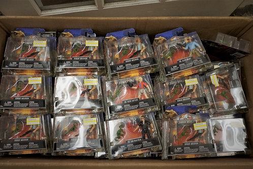 Jurassic World Toys - 63 Units - Shelf Pull Condition