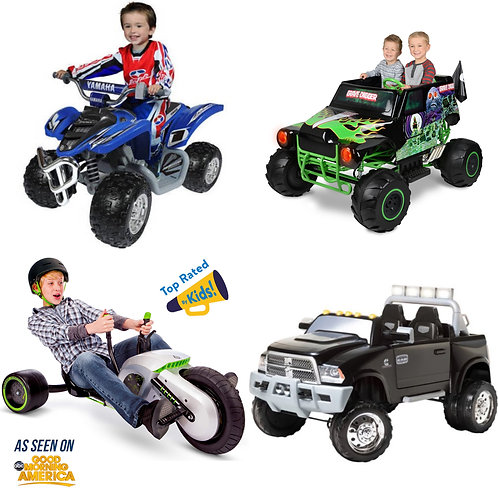 4 Pallets of Power Wheels & Ride-On Toys