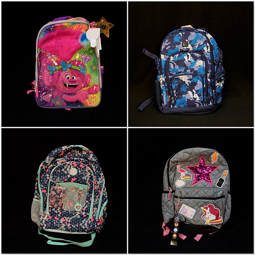 Case Lot of Backpacks - Shelf Pull Condition