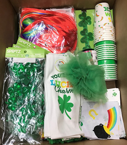 Case Lot Of St. Patrick's Day Merchandise - 169 Units - Shelf Pull Condition