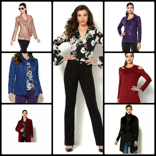 High Quality Brand Name Fashion Apparel - 41 Units - Manifested - Overstock