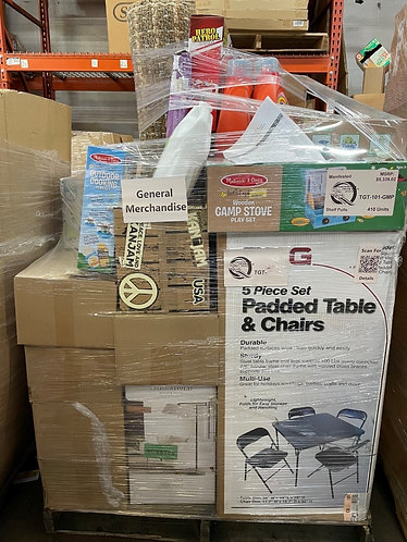 Manifested T@RGT General Merchandise Pallet - 410 Units - Shelf Pull Condition