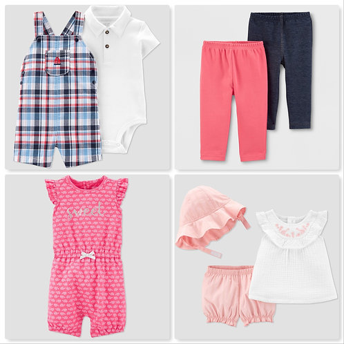 Case Lot of Infant & Toddler Clothing - Manifested
