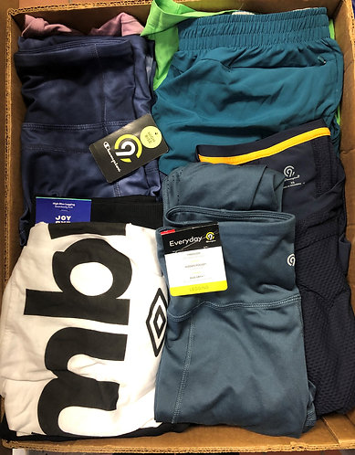 Case Lot of Activewear for Men & Women - Shelf Pull Condition