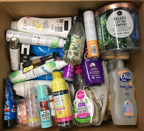 Case Lot of Health & Beauty Items - 100 Units - Mixed Conditions
