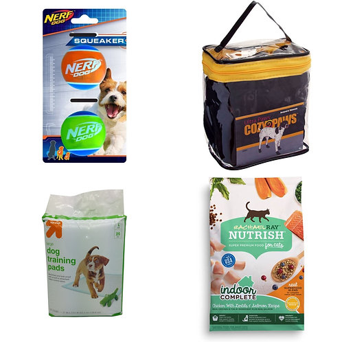 Case Lot of Pet Supplies - Treats, Toys & More!