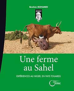 une ferme au sahel couverture du livre.j