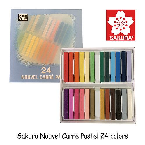Sakura Nouvel Carre Pastel 24
