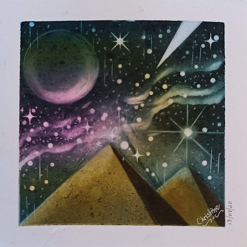 Pyramid in the milky way... By Teacher Christine C