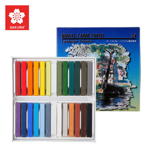 IP-Nouvel Carre Pastel 24 colours Long - Landscape