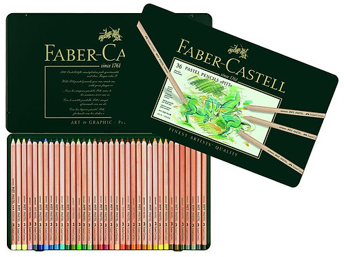 IP-Faber-Castell Pitt Pastel pencil, tin of 36