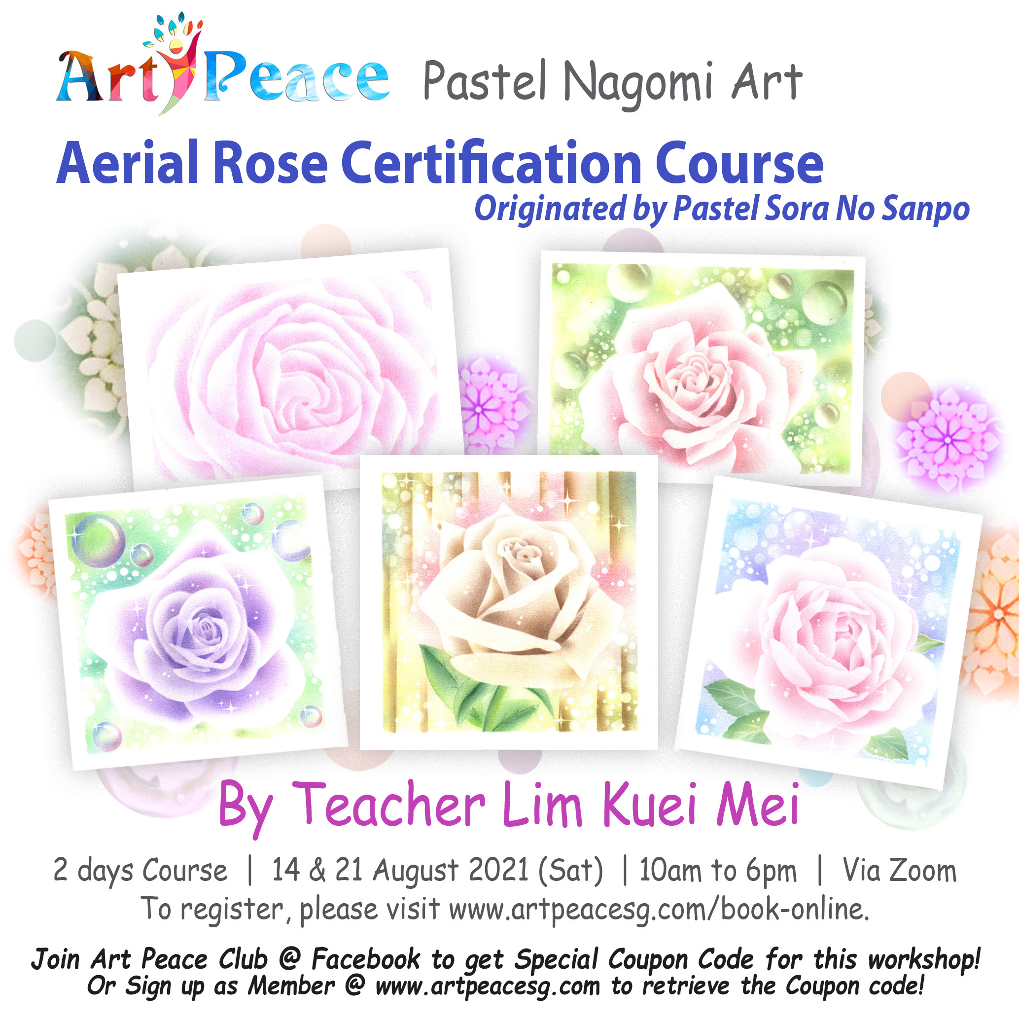 Aerial Rose Certification Course
