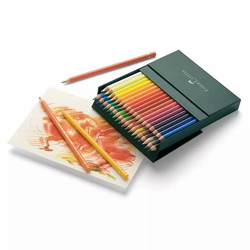 Faber-Castell Polychromos Artist's Colour Pencil Studio, Box of 36