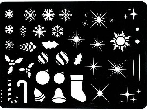 Stencil - Christmas