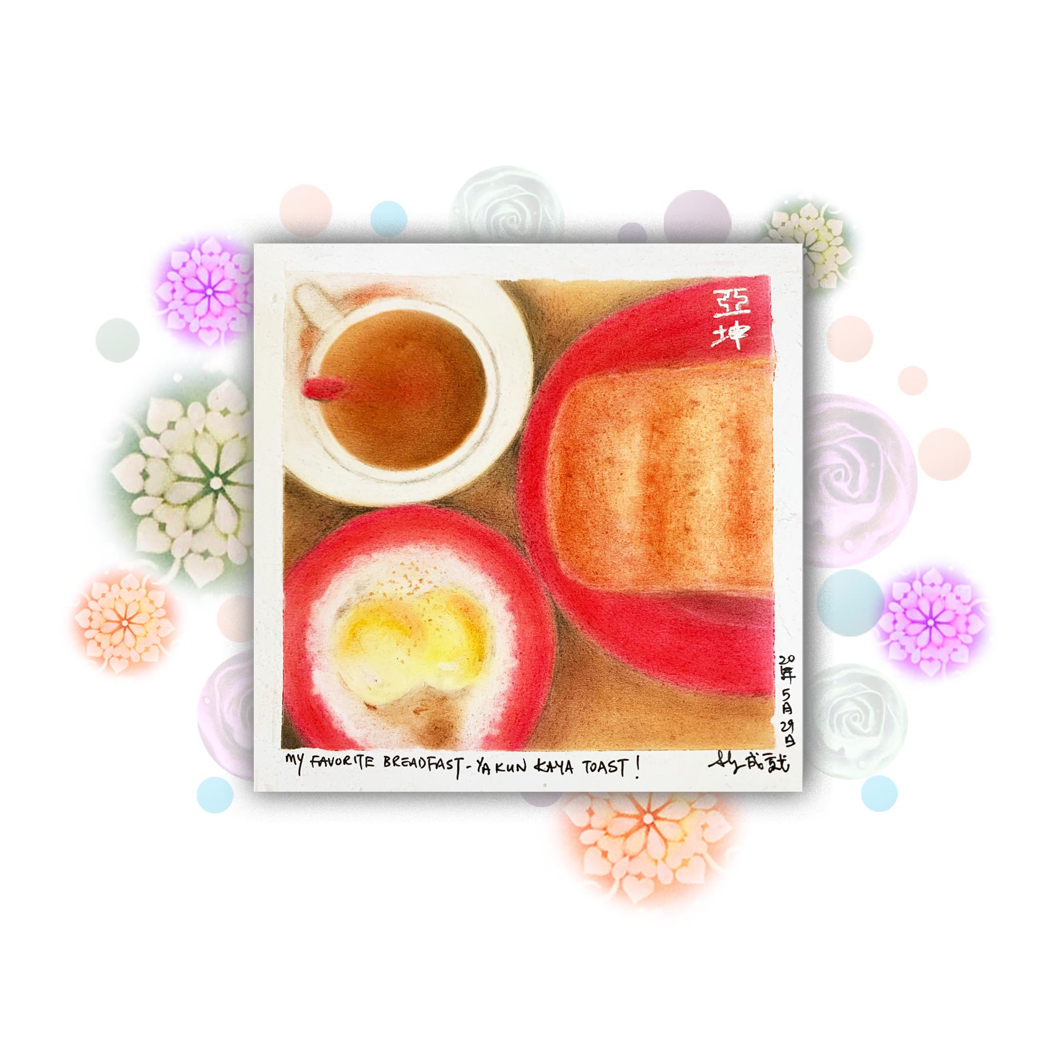 Food Theme - Breakfast Toast set