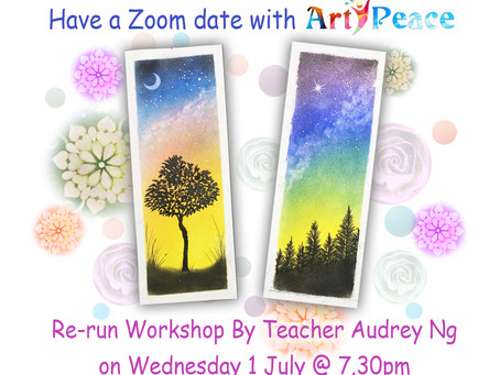 Wednesday Zoom Date with Art Peace