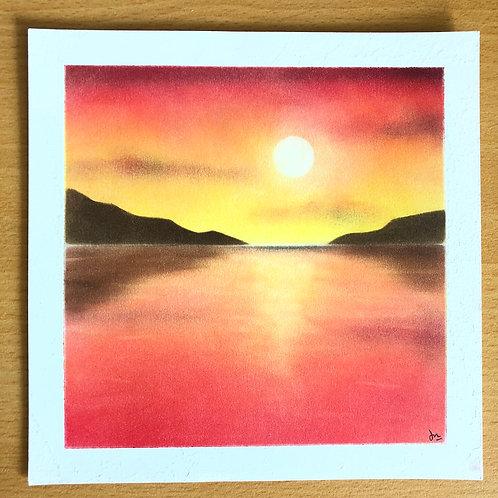 夕阳无限好 (Beautiful Sunset)...By Teacher Dawn Ng
