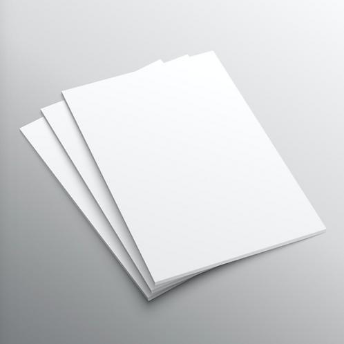 A4 size drawing art paper (5pcs per pack)