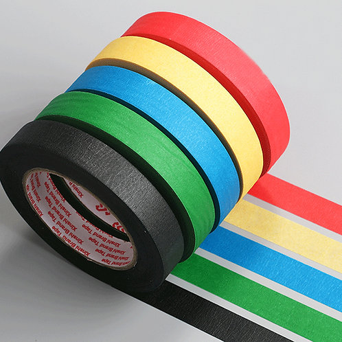 Coloured Masking Tape 1pc - 12mm x 50m