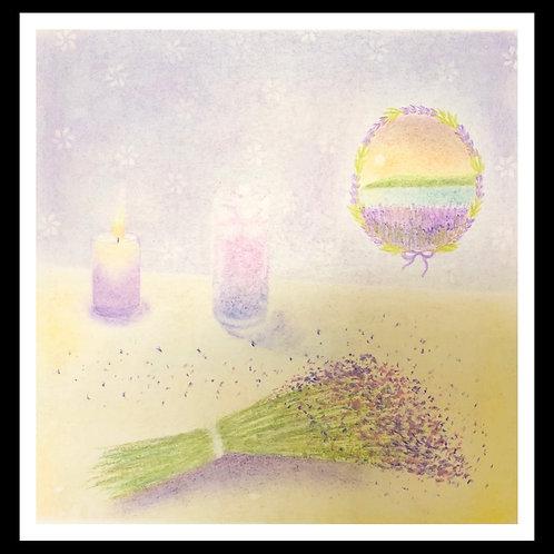 Lovely lavender By Teacher Eva Chen