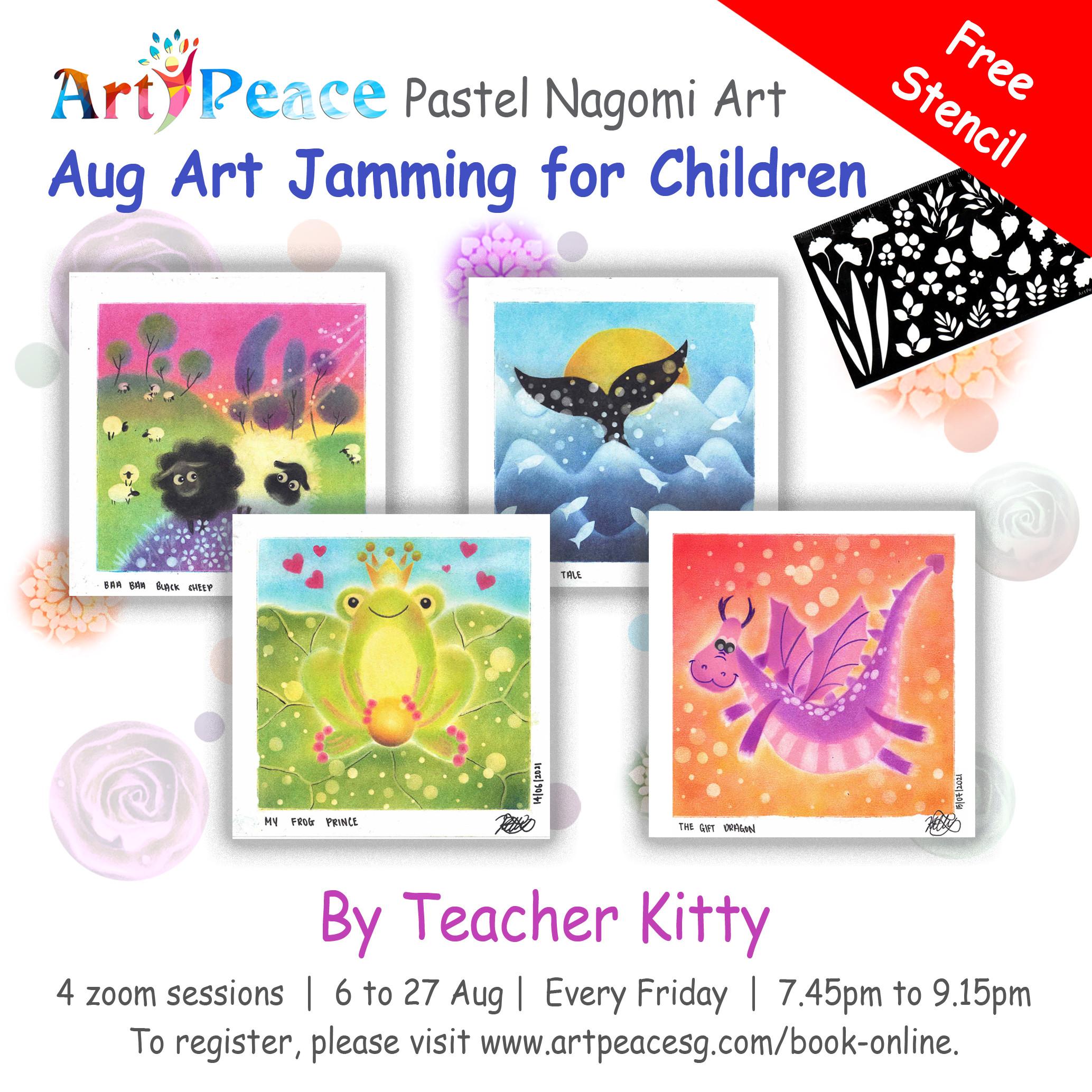 August PNA Jamming for Children
