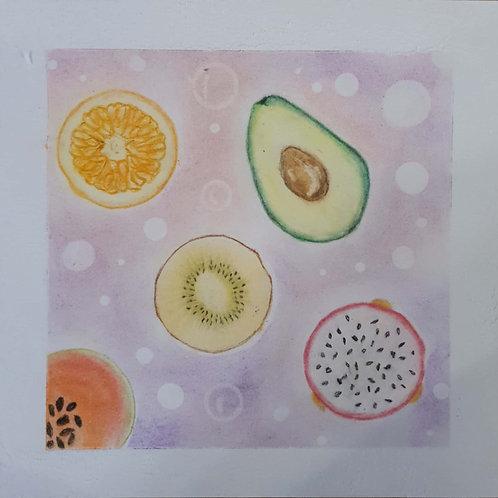 Fruity Day!...By By Teacher Kim B.(Kim Bee Ng)