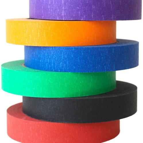 Coloured Masking Tape 1pc - 15mm x 50m