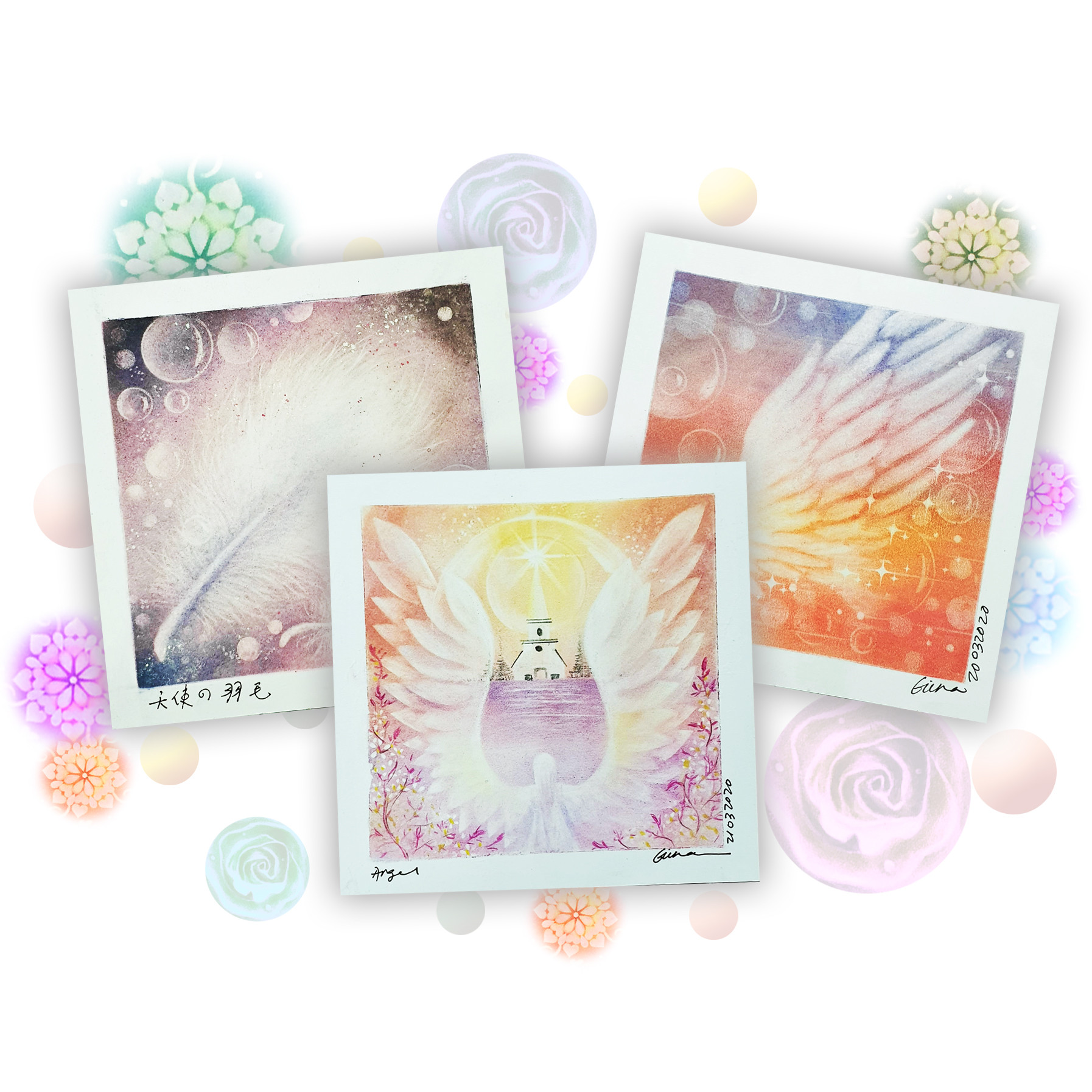 Part 1- Angel Blessing Pastel Art Course