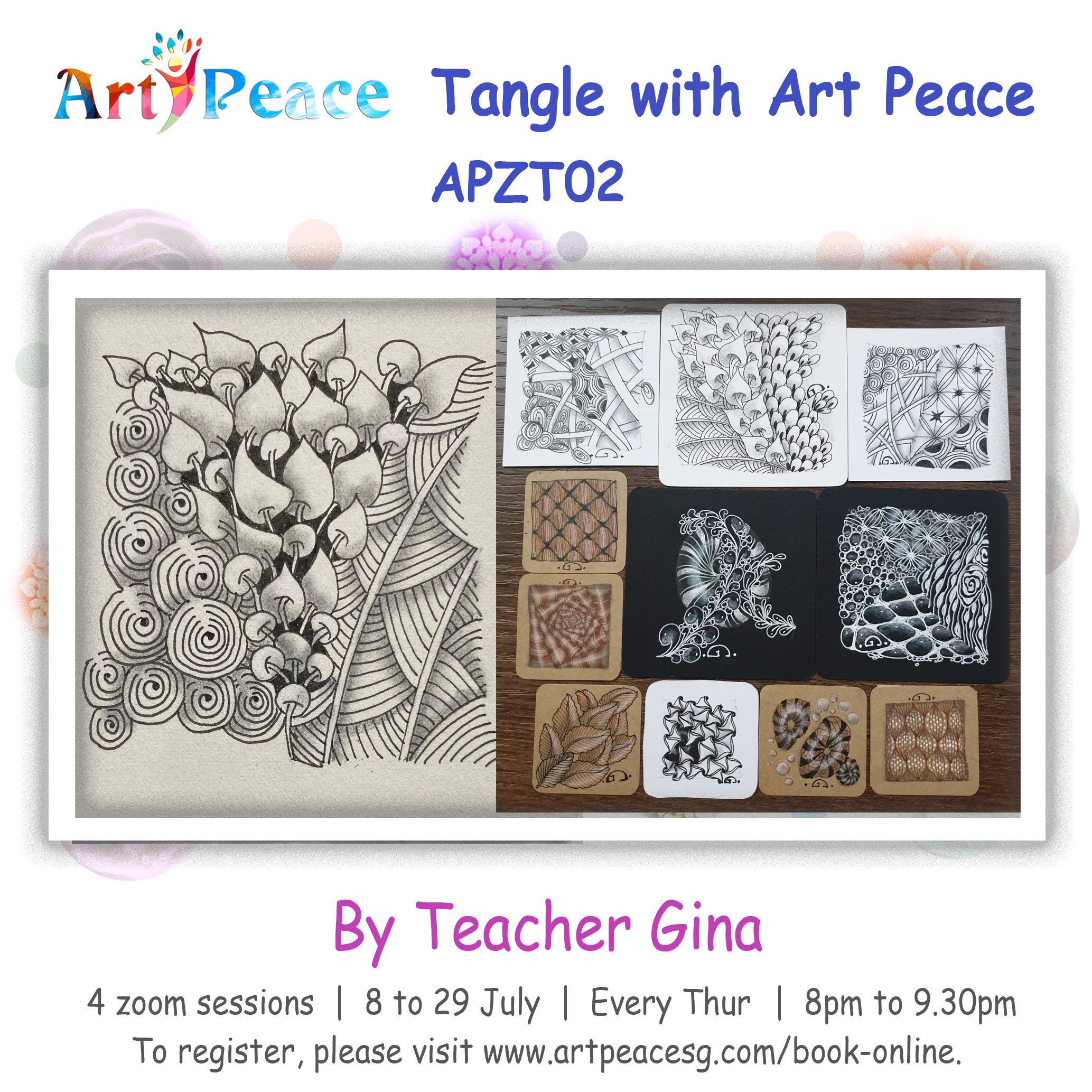 Tangle with Art Peace - APZT02