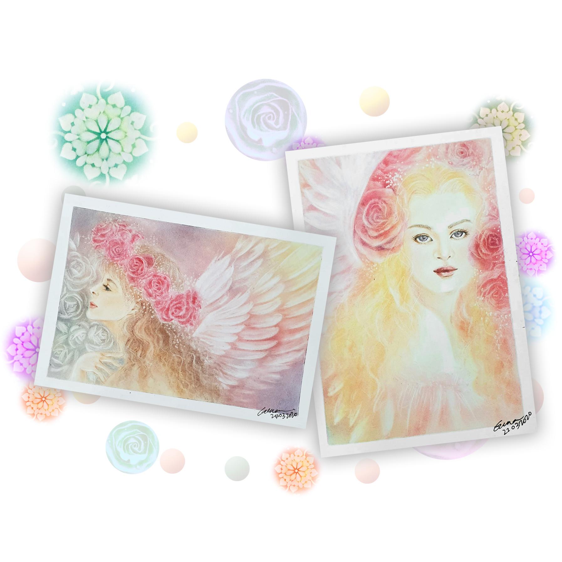 Part 3- Angel Blessing Pastel Art Course