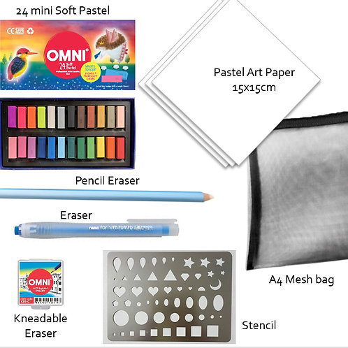IP-Omni Soft Pastel Starter Kit 24 mini