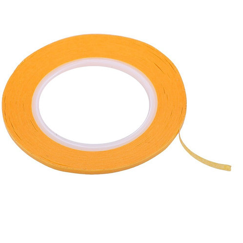Painting Masking Tape Adhesive Tape 8mm x 50m - Orange