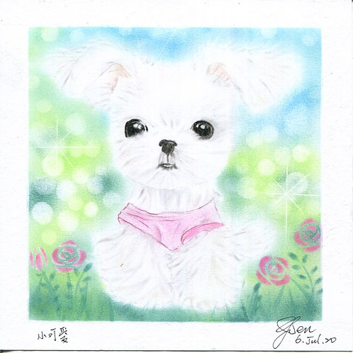 A Lovely Dog By Teacher Kuo Yun Wen