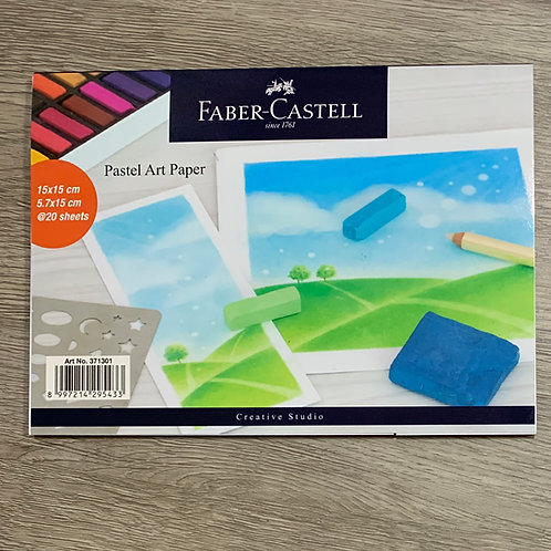 Faber-Castell Soft Pastel Paper (3 books)