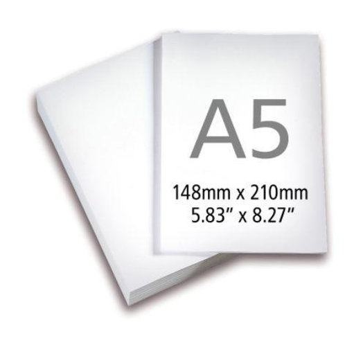 IP-A5 size drawing art paper (5pcs per pack)