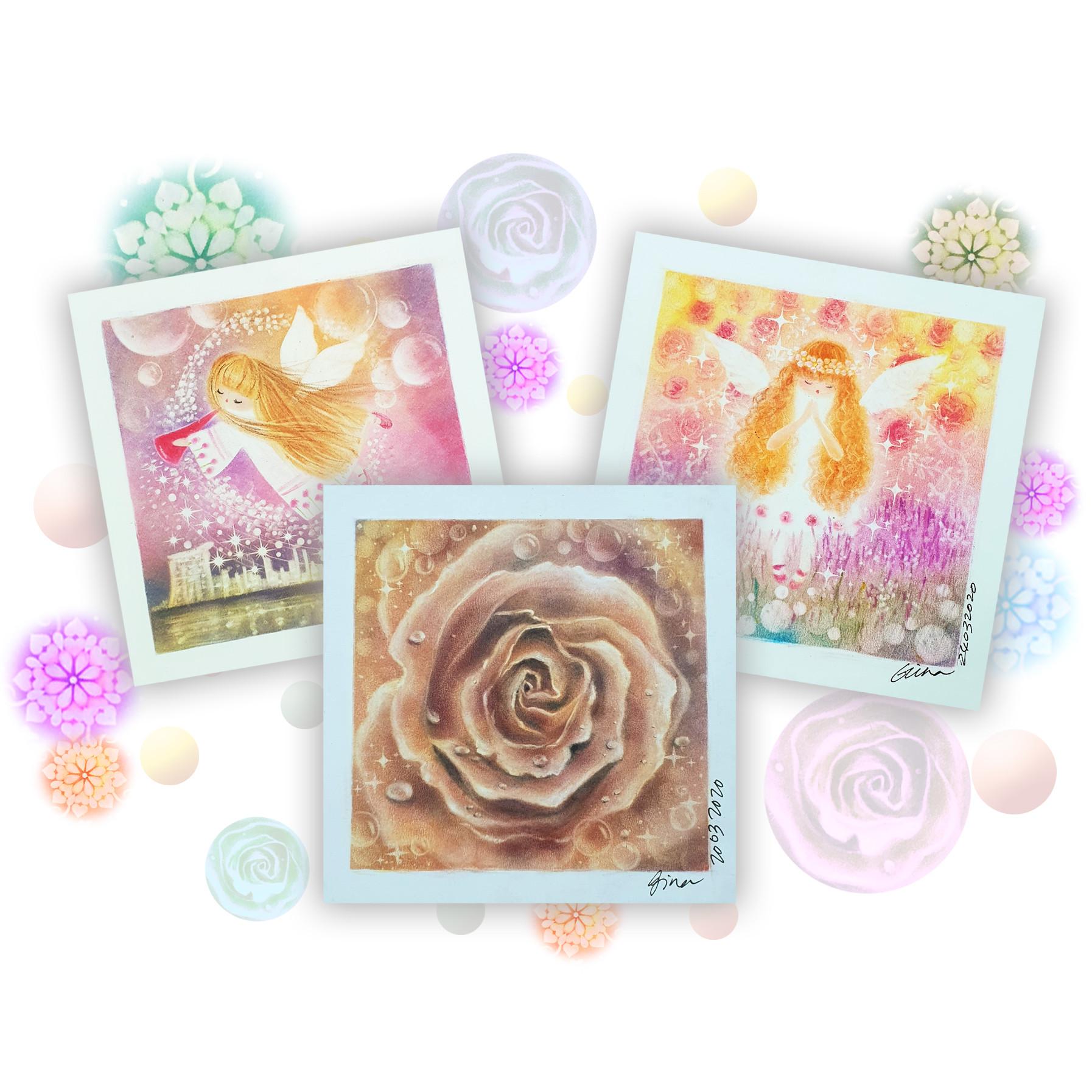 Part 2- Angel Blessing Pastel Art Course