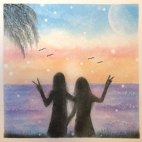 Best Friends forever...By Teacher Eva Chen