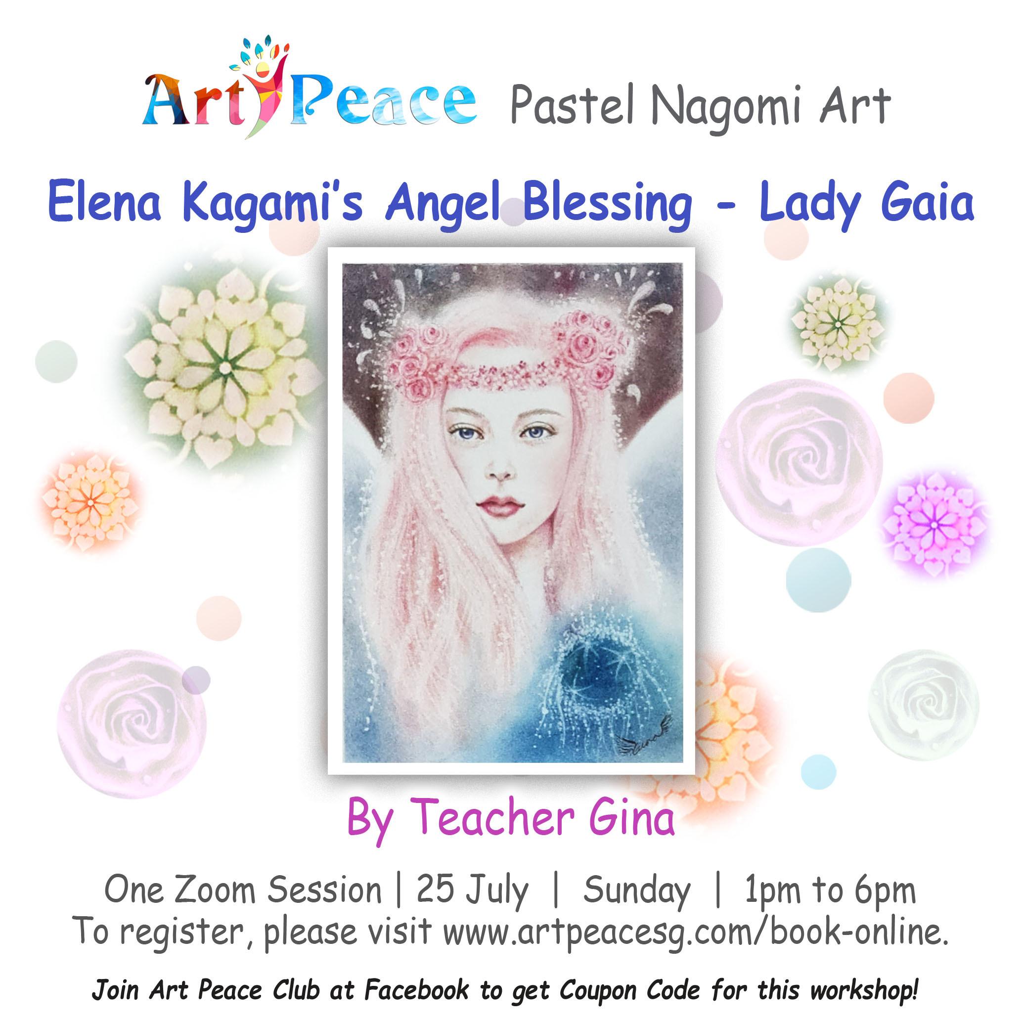 Elena Kagami's Angel Portrait- Lady Gaia