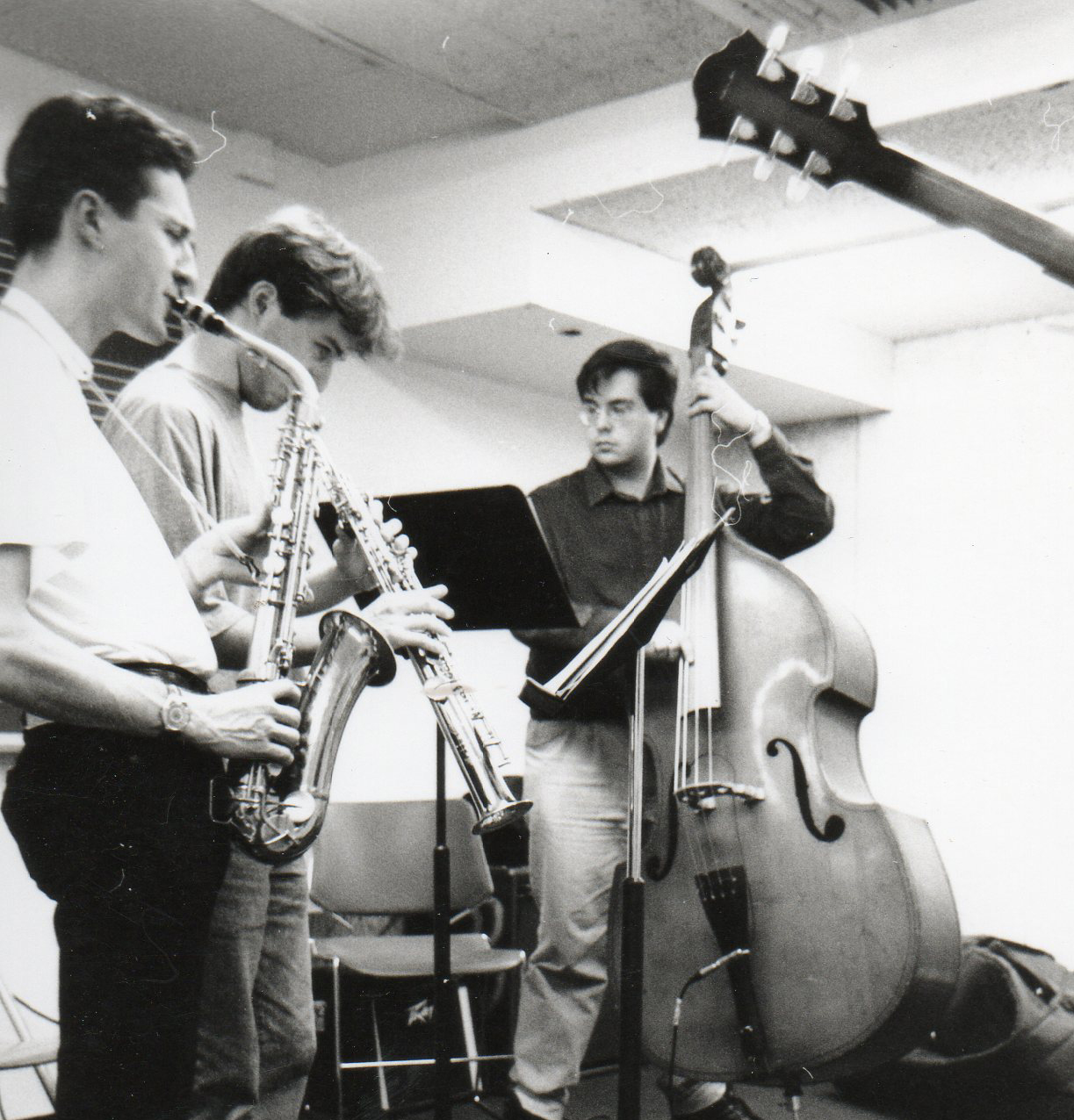 First band at Berklee, 1992