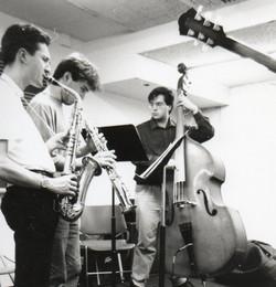 First band at Berklee, 1992