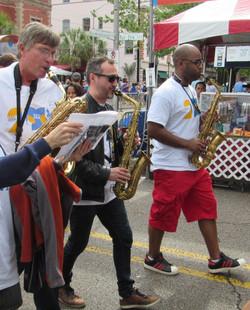 Marching in Lafayette, 2015