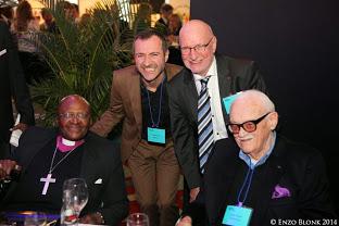 Desmond Tutu, Stef's dad & Toots!