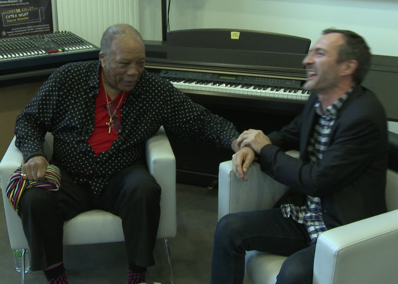 Meeting Quincy Jones, 2014