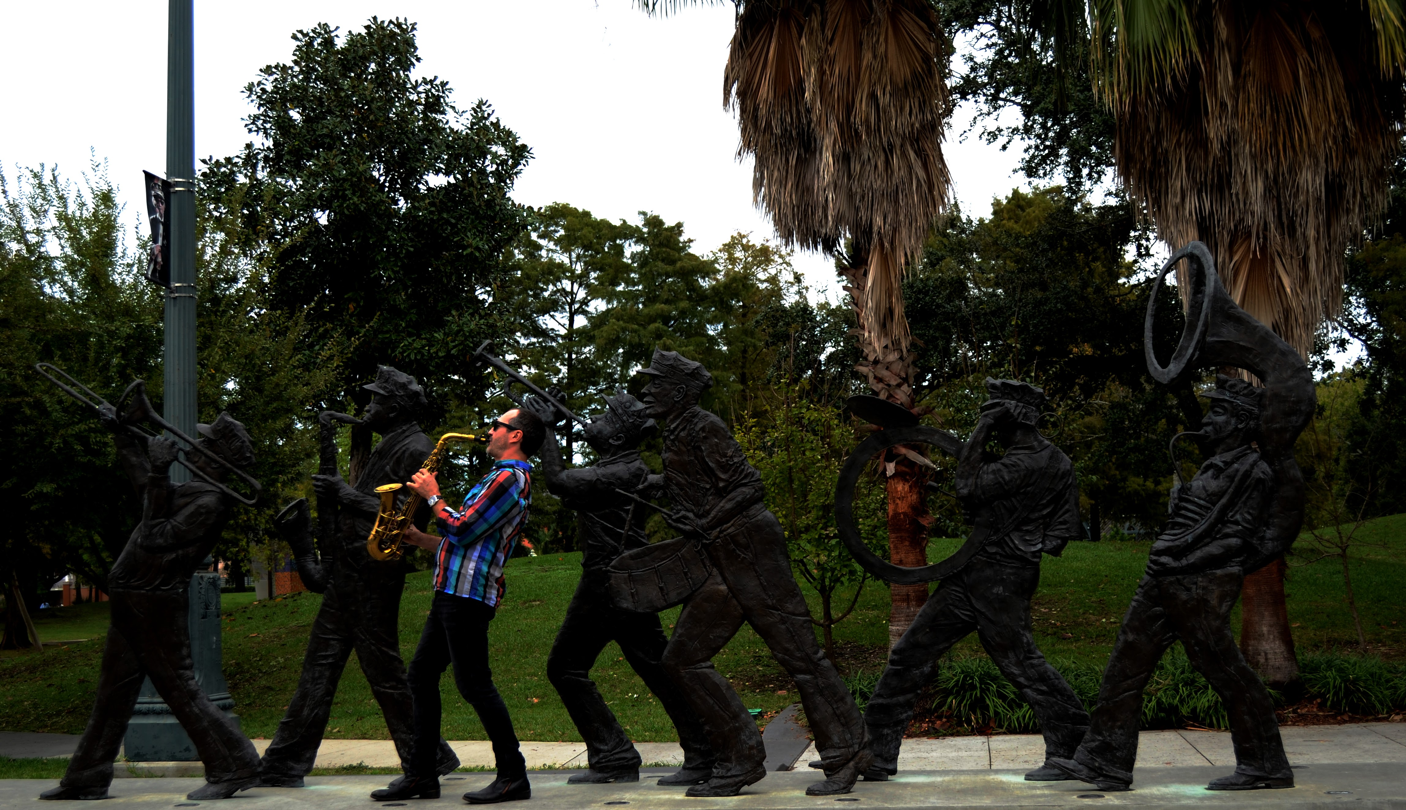 Louis Armstrong Park, New-Orleans