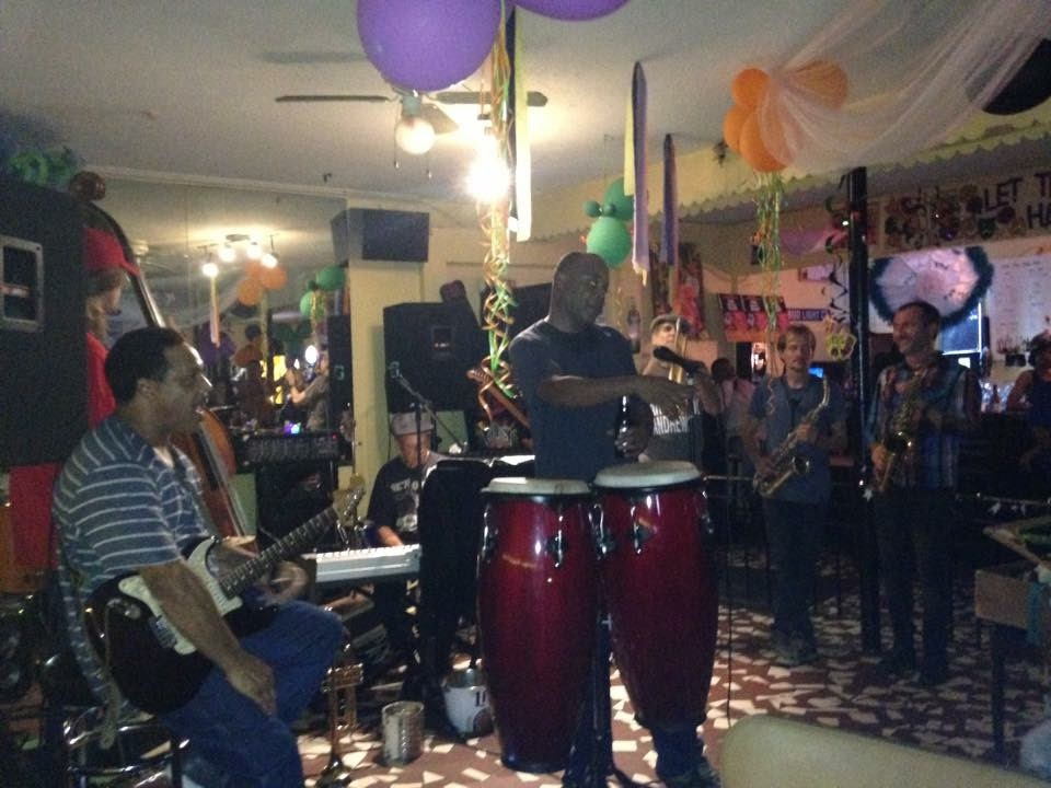 Jamming in the Treme, New Orleans