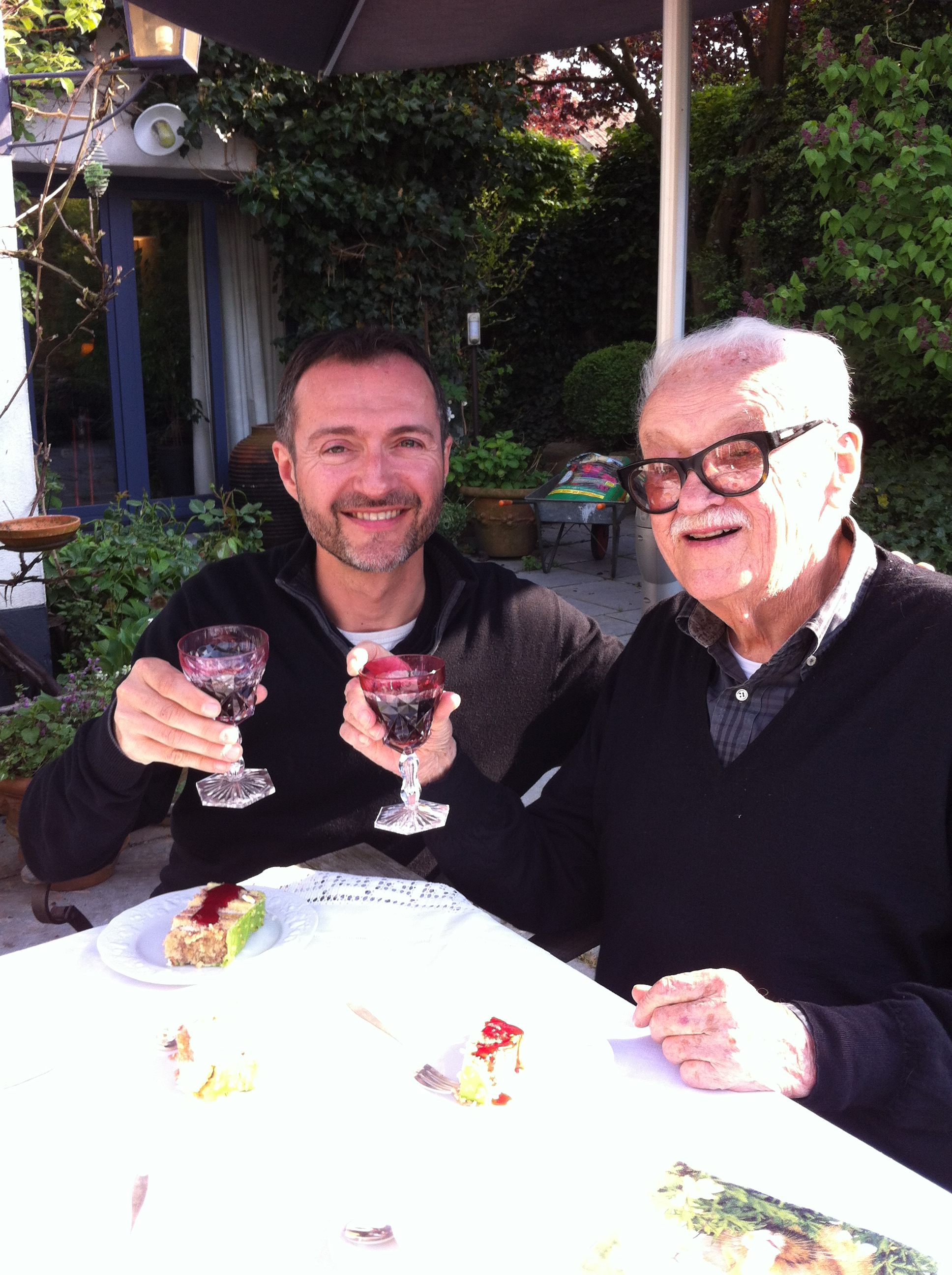 chilling with Toots Thielemans