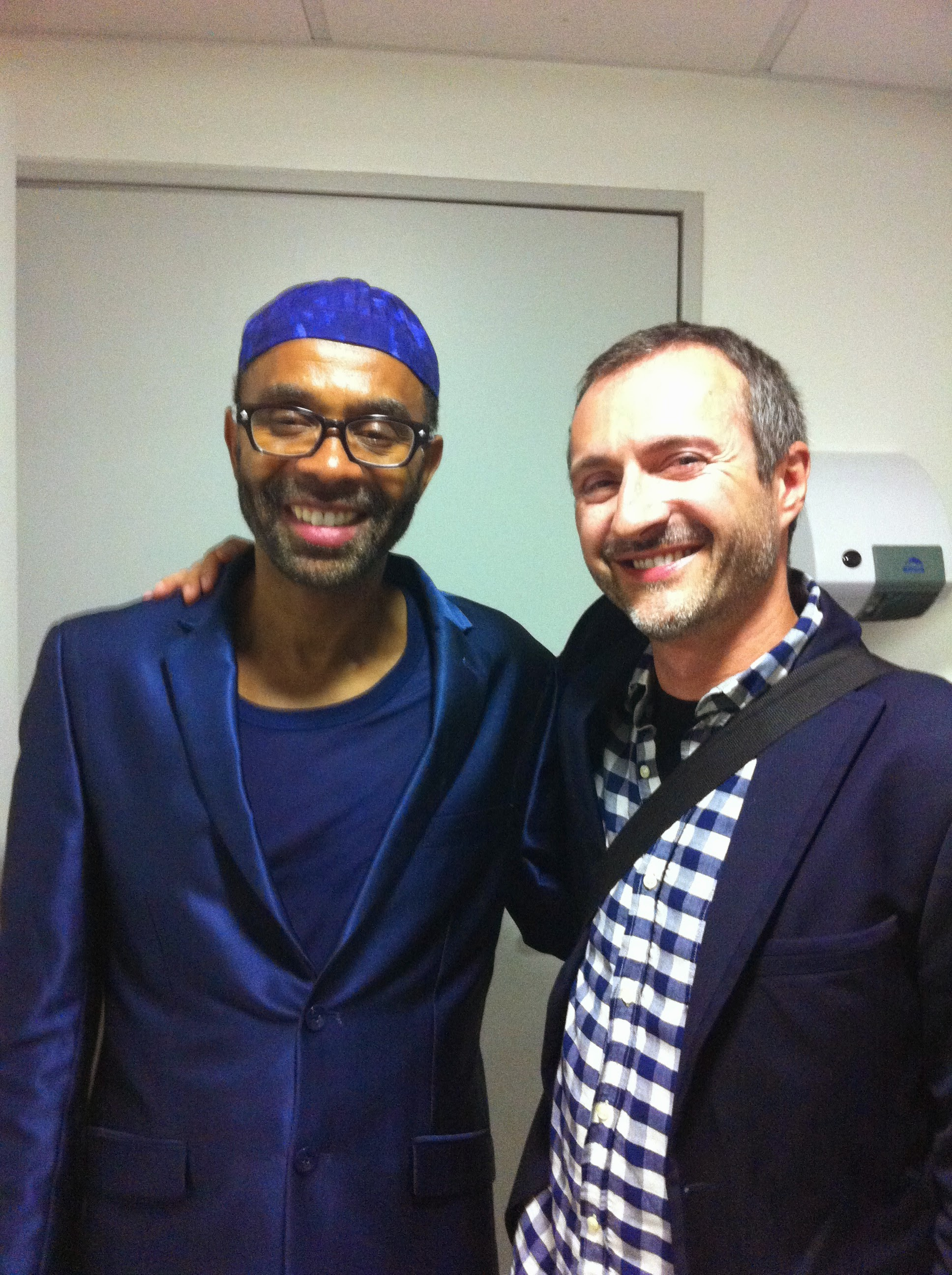 with Kenny Garrett