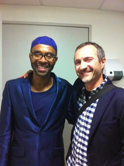 with Kenny Garrett
